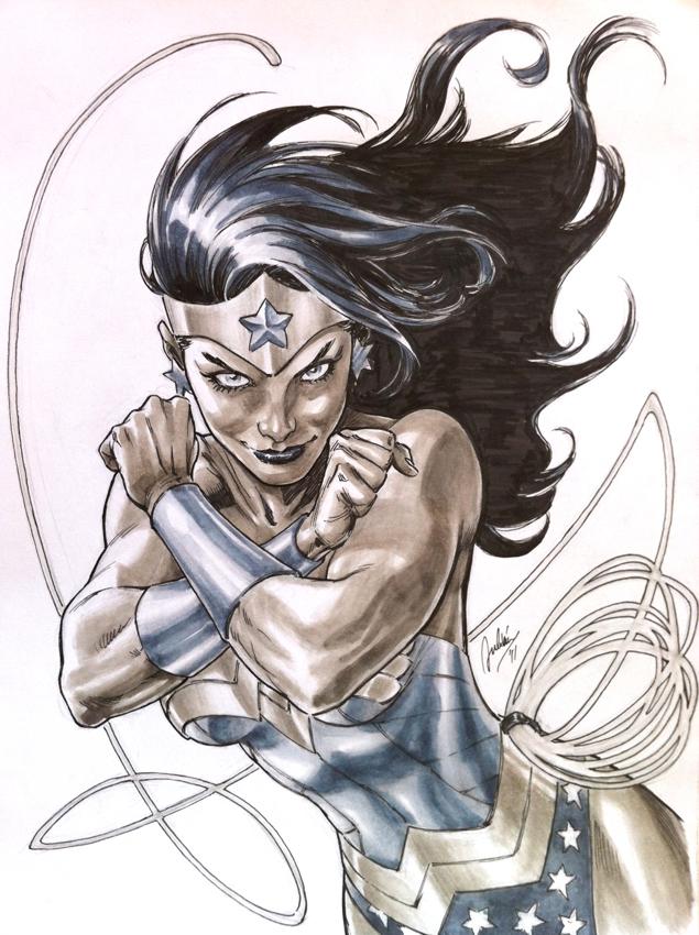 Commission: Wonder Woman by julianlopezart