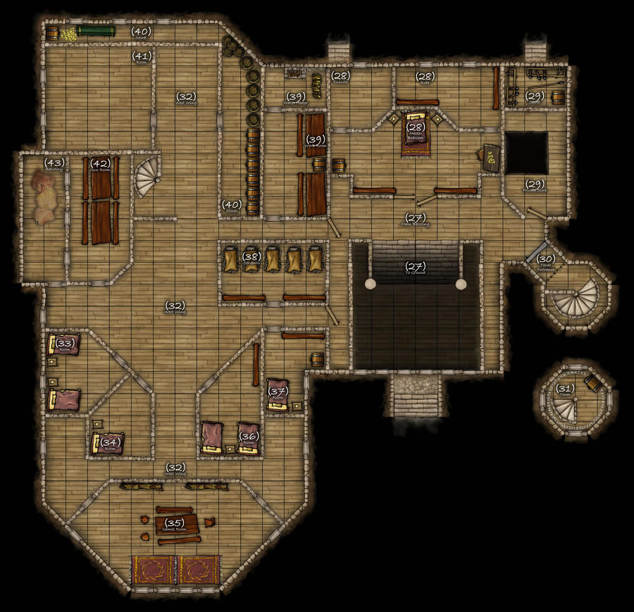 1000 images about d d on pinterest dungeon maps for Floor 5 map swordburst 2