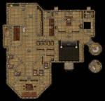 DND mansion map - 2nd Floor