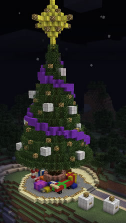 Minecraft - Christmas Tree by r3v3r53d on DeviantArt