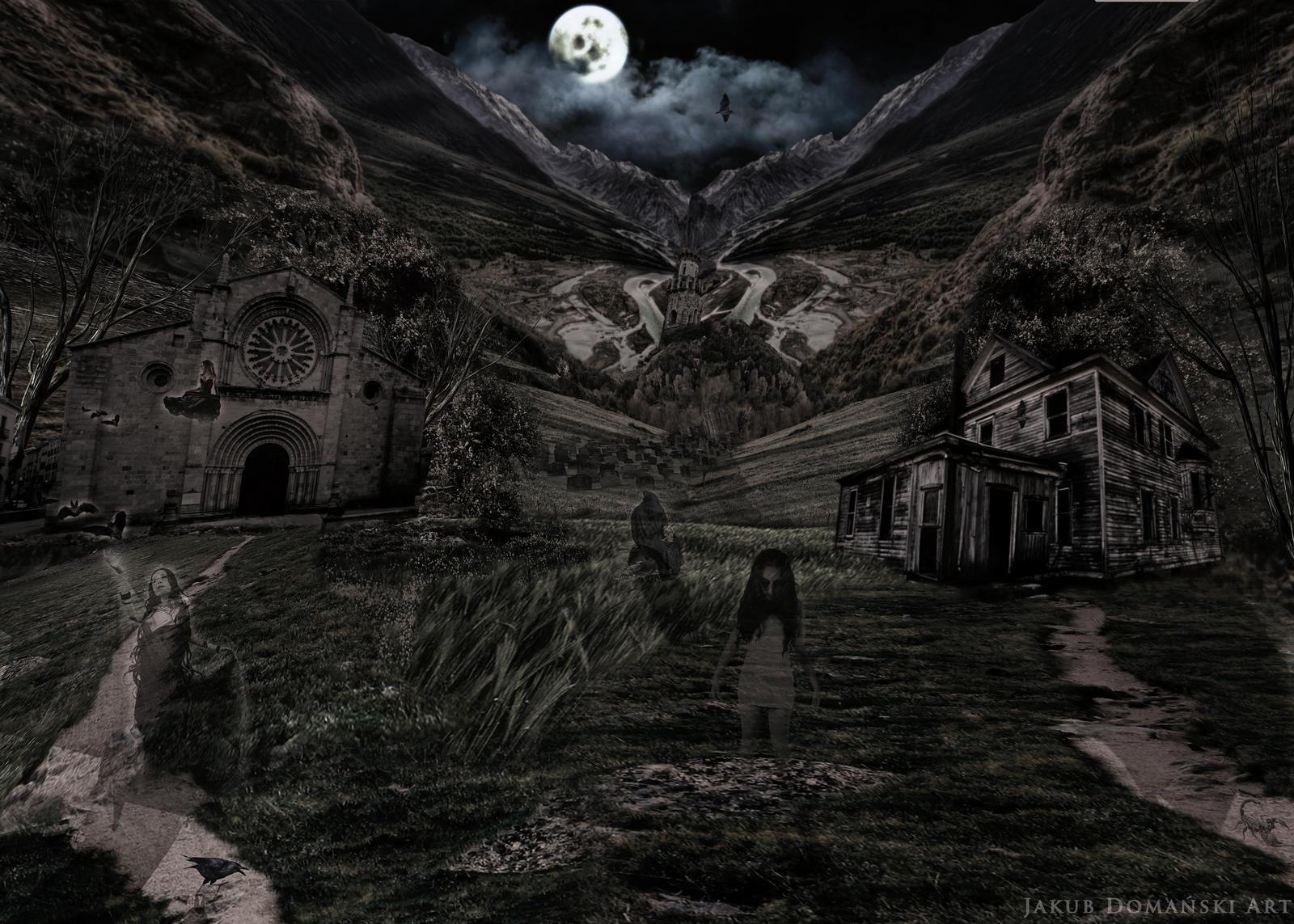 Scary Dark Place Dark , Scary Pl...