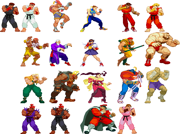 Street Fighter Alpha 2 By Flashcs On Deviantart