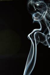 Smoke Cubist Female by mattrobinsonphoto