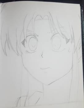 Lunchtime Sketch - Botan