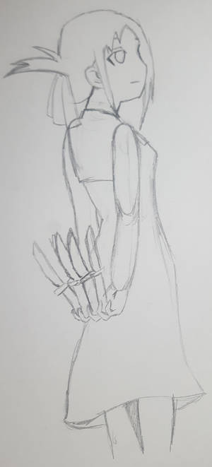 Lunchtime Sketch - Shinomiya Kaguya