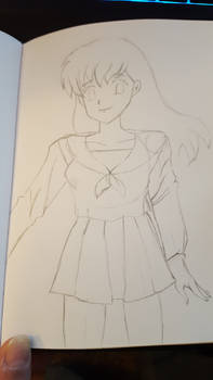 Lunchtime Sketch - Kagome