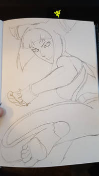 Lunchtime Sketch - Juri