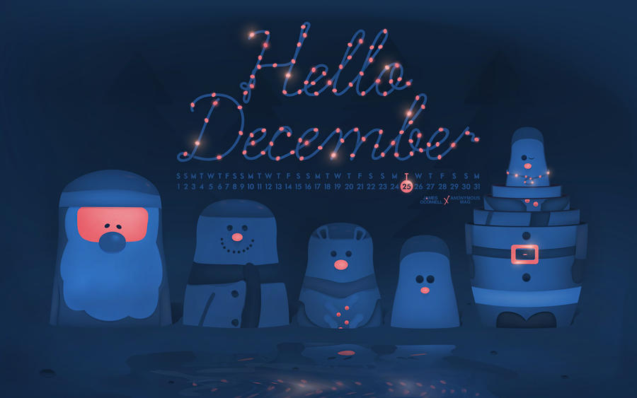 Hello December by joc221