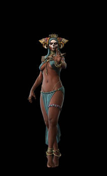 Diablo Witch Doctor for Blizzfest render test3