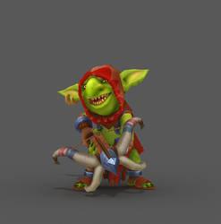 Goblin Real-time model1 color