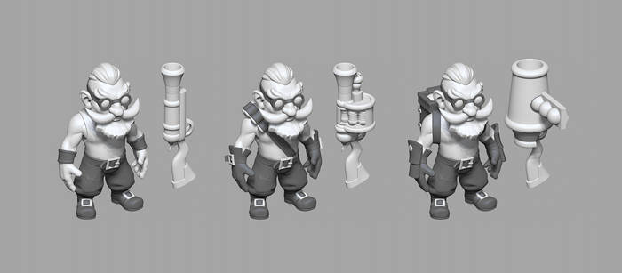 Dwarf cannoneer