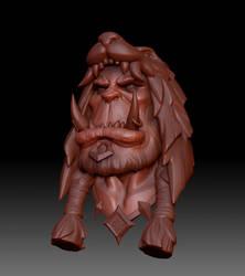 Durotan head SpeedSculpt