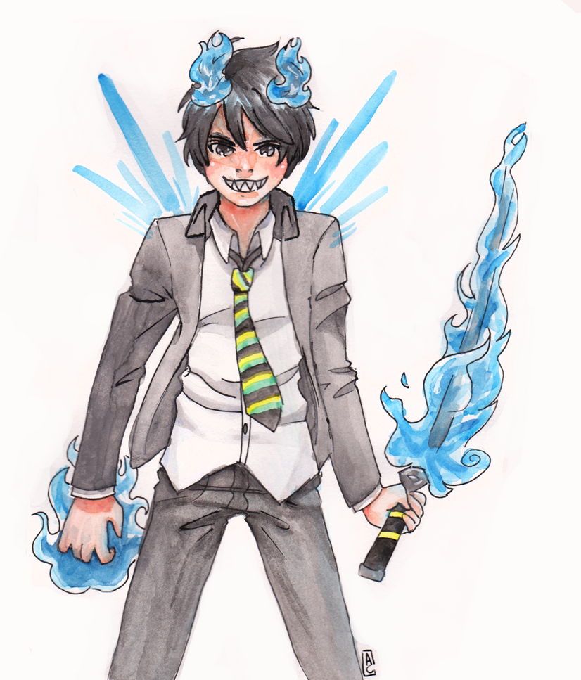 Rin Okumura by toon-chan