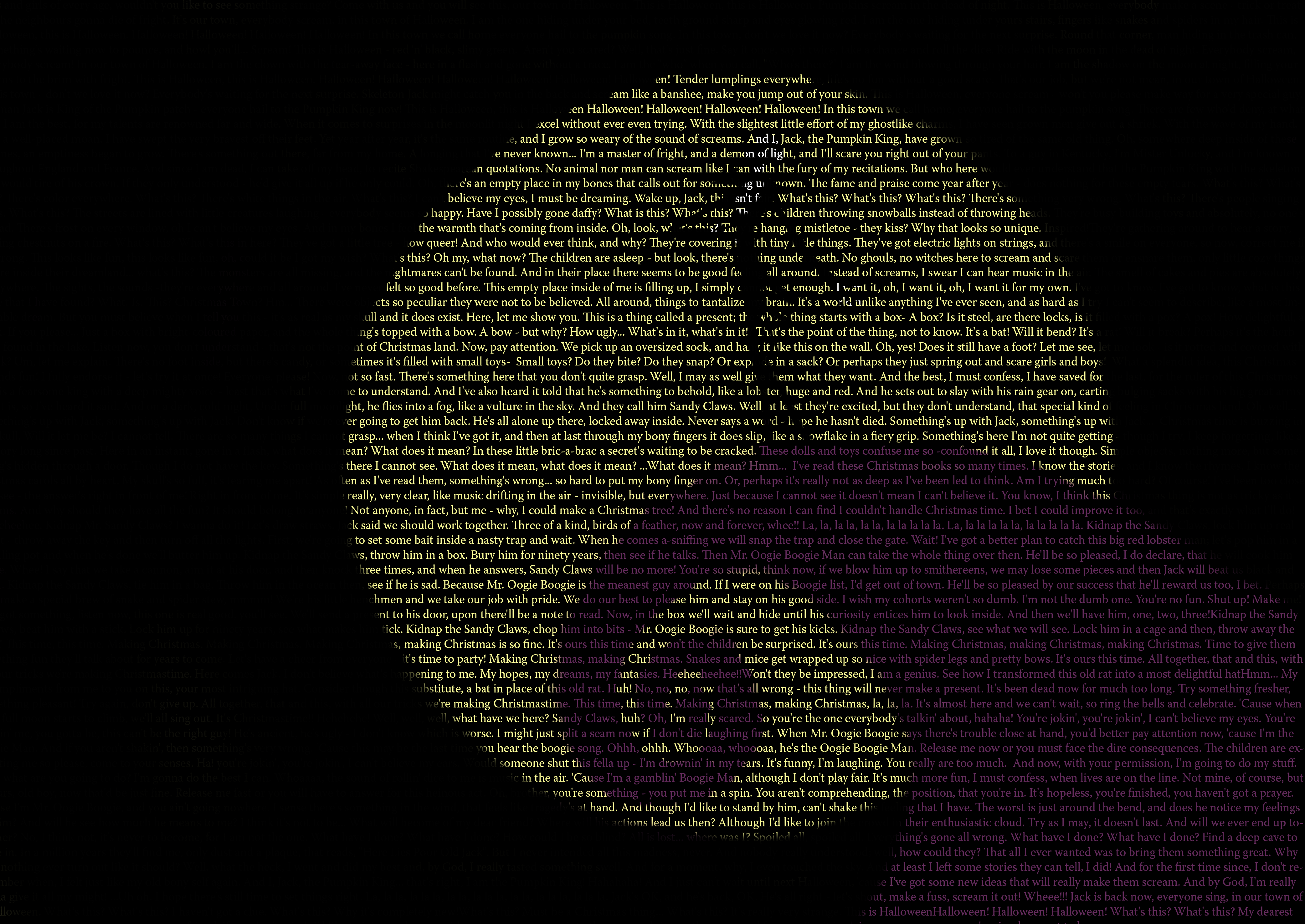 all - Nightmare Before Christmas Backgrounds
