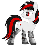 Blackjack the cyber pony