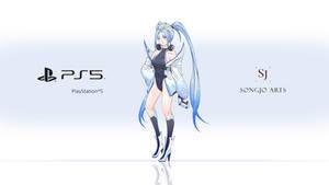 Playstation 5 Chan Wallpaper