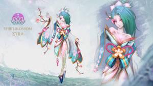 Spirit Blossom Zyra Fan Art skin
