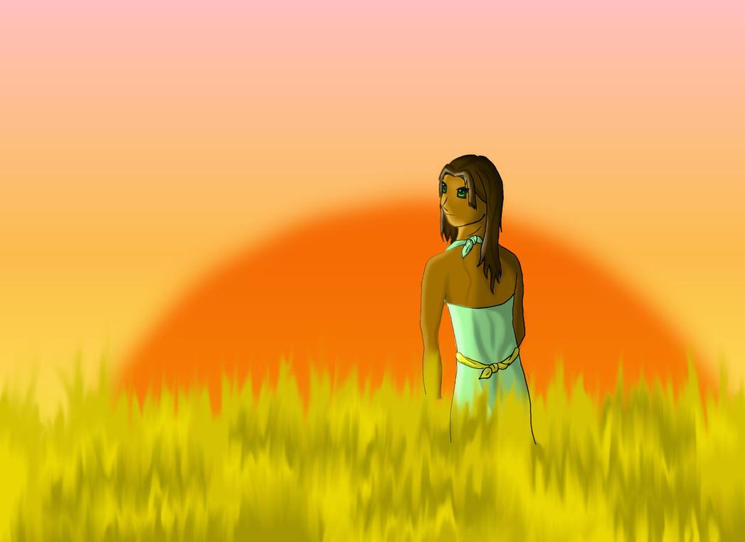 Laila-A Thousand Splendid Suns by descendingbackwards