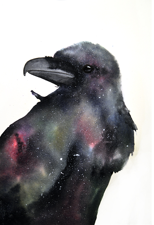 Raven Galaxy by Roger-Dorsey
