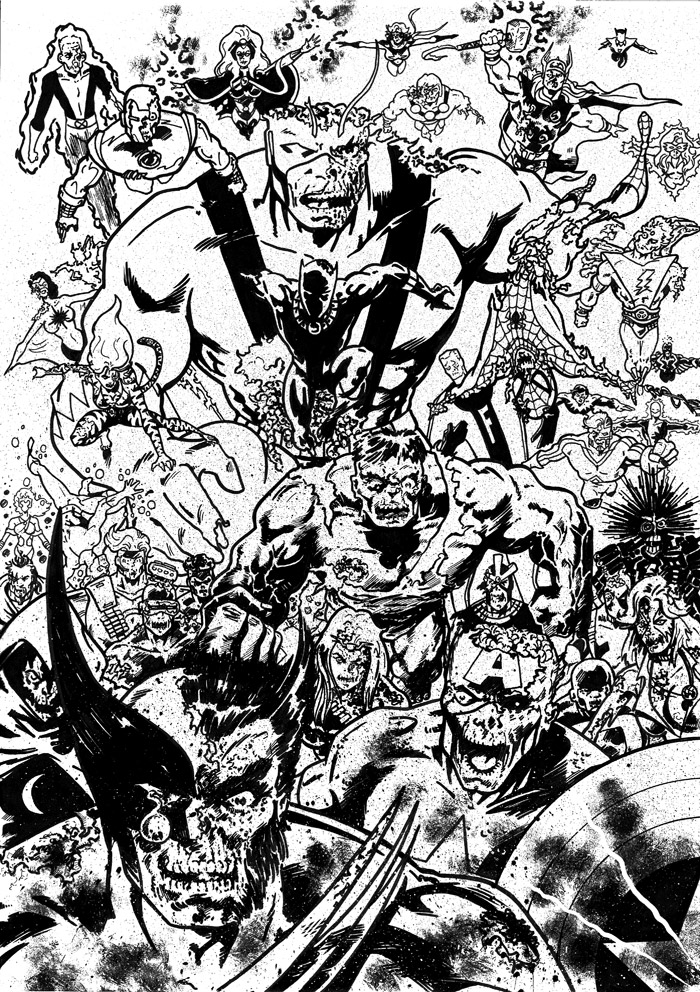 Marvel Zombies By Tomcrielly On Deviantart