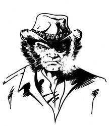 Wolverine (as Patch) of the X-Men by tomcrielly