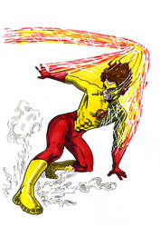 Kid Flash 2 by tomcrielly