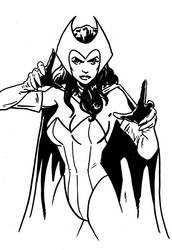 Scarlet Witch sketch by tomcrielly