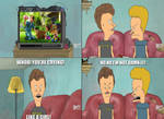 Beavis and Butthead Watch Toy Story 3
