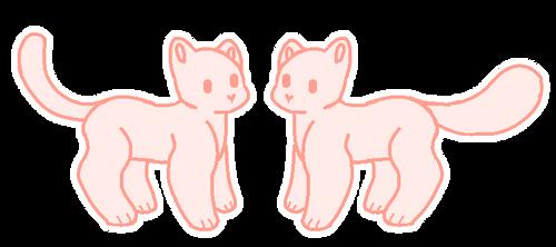 F2U | Cat Base {redone} by NamelessFeline