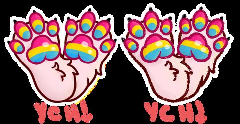 Paw Pride V2 | OPEN YCH by NamelessFeline