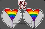 [OPEN] Pride Undies YCH by NamelessFeline