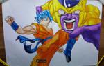 Goku vs Golden Frieza