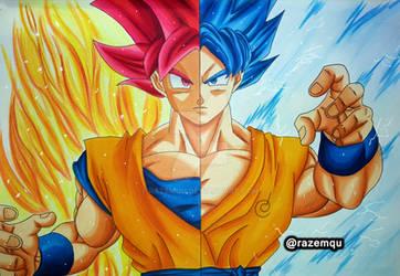 Goku Saiyan God | Super Saiyan Blue