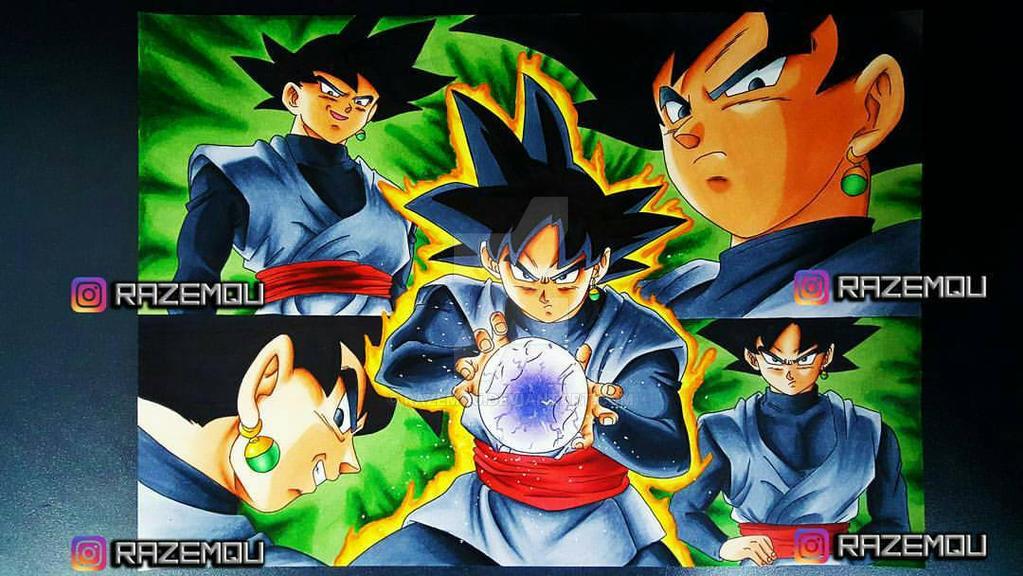 Black Goku   Dragonball Super by razemqu