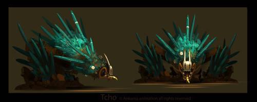 Wakfu monster 02 by tchokun