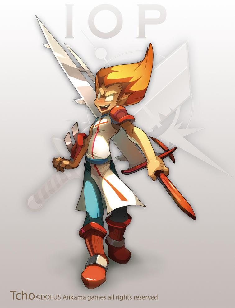 Dofus Character IOP by tchokun