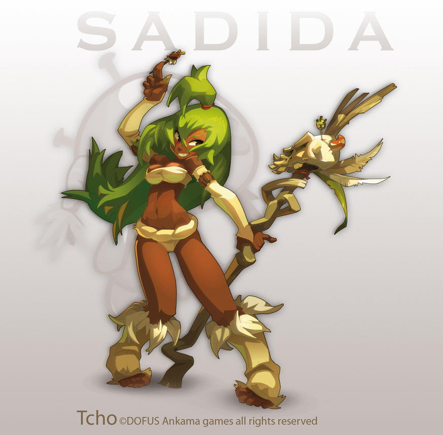 Wakfu Anime Character Design : Dofus character sadidette by tchokun on deviantart