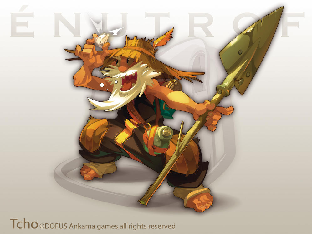 Dofus Character Enutrof by tchokun