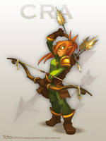 Dofus Character Cra by tchokun
