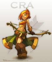 Dofus Character Craette by tchokun