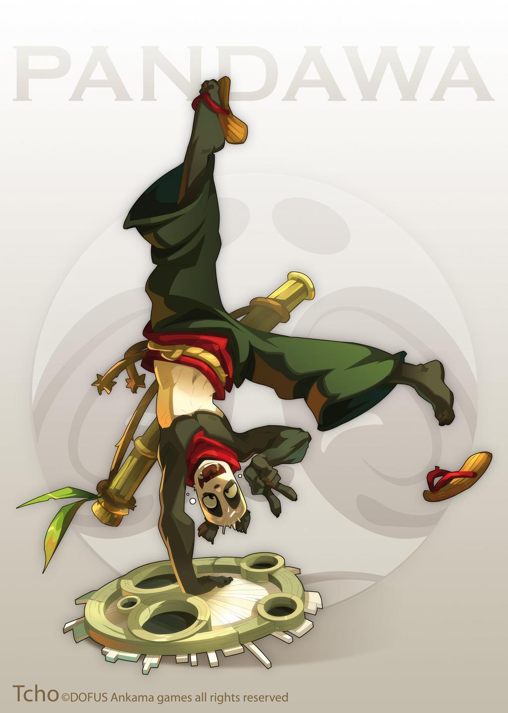 Dofus Character Pandawa by tchokun