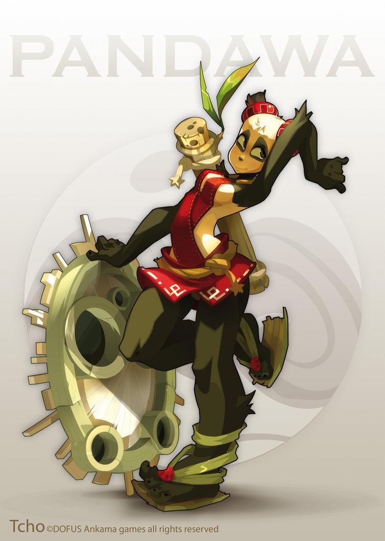 Dofus Character Pandawette by tchokun