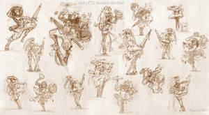 TCG PANDALA sketches