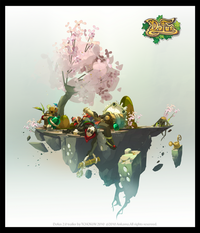 "Dofus 2.0 ""the Pandawa"" by tchokun"