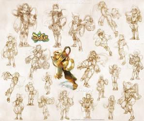 DOFUS steameurs sketches! by tchokun