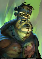 Golem Monster Slaughter by tchokun