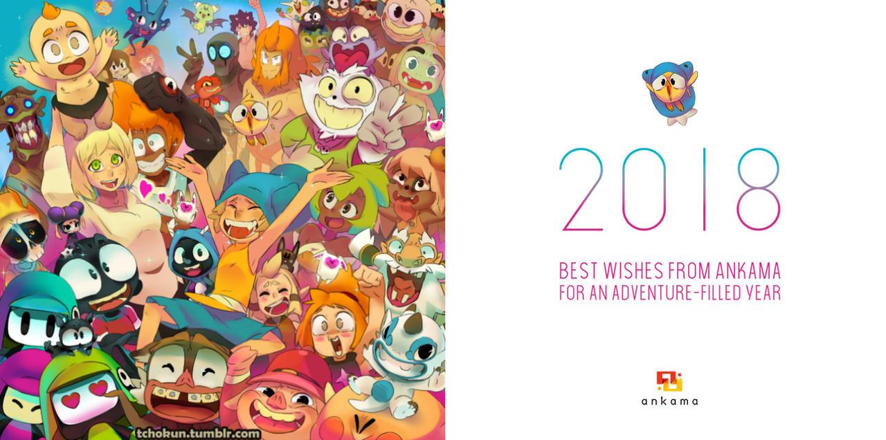 Happy new year 2018 by tchokun