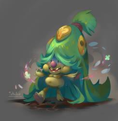Happy Vegan Troll by tchokun