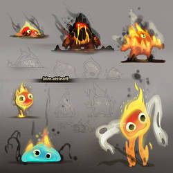 Fire Monsters