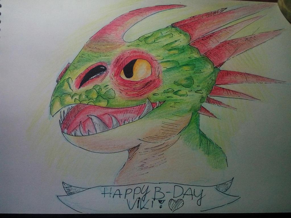 Happy Birthday Viki! by Toothyna